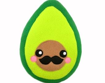 Señor Avocado plush toy / pillow