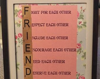 8x10 Friends Print