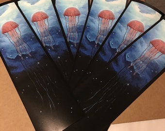 Cosmic Jellyfish Art Print