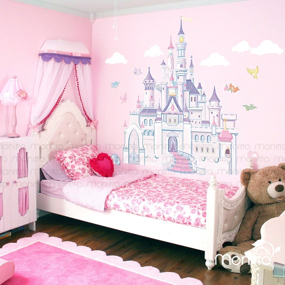 Gorgeous Princess Castle Wall Decal by Monitto