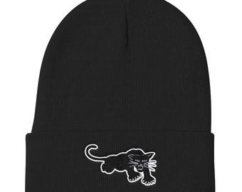Black Panther Knit Beanie