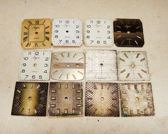 Small Watch Faces - set of 12 - c50