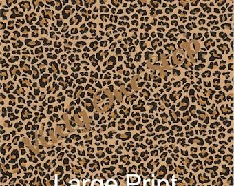 Cheetah Print HTV (Heat Transfer Vinyl) or Oracal 651