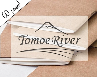 Tomoe River Paper ALL SIZES Traveler's Notebook Insert, Kraft Cover Traveller's Refill Personal Standard