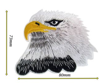 High Quality Eagle Iron Sew On Embroidered Patch Badge Patches Logo Badges 101
