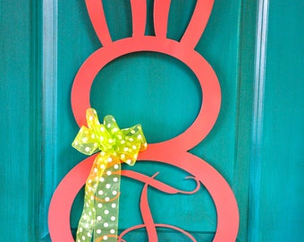 Easter Rabbit Initial