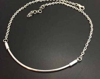 Sterling Silver Handmade Bar Necklace By Joy Kruse Wild Prairie Silver Jewelry