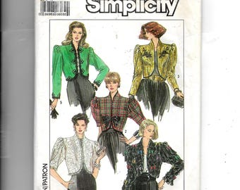 Simplicity Misses' Lined Jacket Pattern 8954