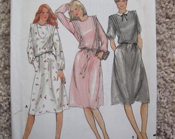 UNCUT Misses Dress - Butterick Sewing Pattern 3480 - Vintage