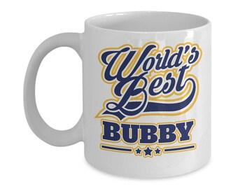 Worlds Best Bubby 15oz. Mug - Jewish Grandmother - Mothers Day Gift Yiddish