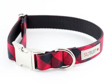 Buffalo Plaid Dog Collar