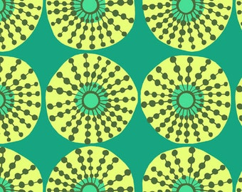 Amy Butler Fabric Sun Glow in Jade from the Lark Collection 1/2 Yard