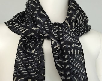 Bold 1950's Abstract Scarf