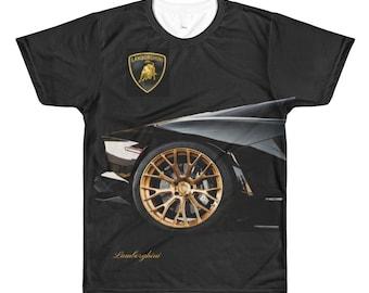 Lamborghini tshirt Dye sublimation