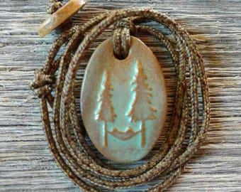 Hammock Camping Necklace