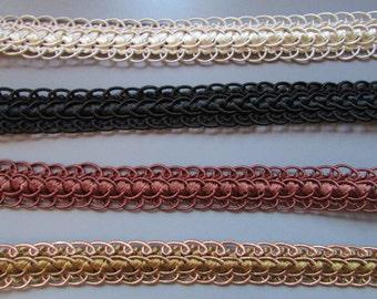 2cm Decorative Gimp Braid top quality x 1 metre 4 colours to choose