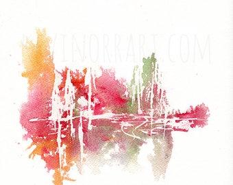 ABSTRACT PRINT - gift ideas, printed art, wall art, abstract print, print, abstract art, art decor, home decor, wall decor,