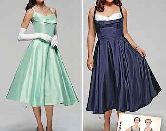 Simplicity Pattern 1155 Miss and Miss Plus Vintage Dress