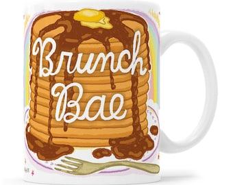 Bae Gift Gift For Her Coffee Mug Brunch And Bubbly Funny Coffee Mug Funny Mom Mug Pancakes Mom Mug Squad Girls Mug Squad Goals Mug Bride Squ