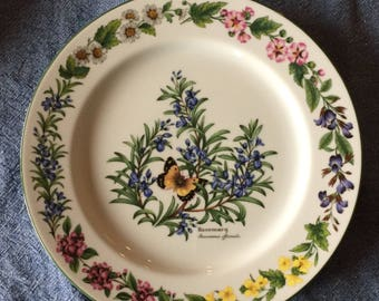 Worcester Herbs dinner plate by Royal Worcester