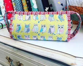 Pattern Sew Together Bag by Sew Demented, Notions Bag, Travel Bag, Accessories Bag, Makeup Bag