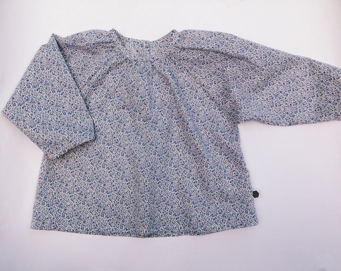ZINNIA BLOUSE Constructed from Liberty Cotton Tana Lawn 'Newland'