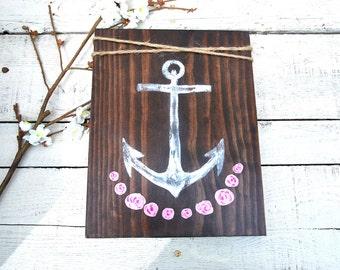 Rustic Anchor decor