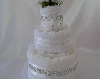 Piece with three layers for a wedding or engagement or...