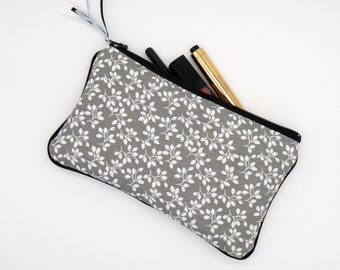 Flat Mailer, cosmetic pouch makeup pouch grey