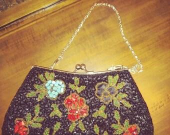 Vintage clutch, vintage purse, vintage evening bag, vintage hand bag