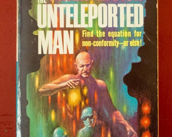 The Unteleported Man  - P.K.Dick -  /  The Mind monsters - H.L Cory - 1966 Ace Double