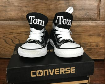 Baby Shoes - Baby Converse - Monogrammed Converse - Personalized Converse - Baby Clothes - Converse - Baby Clothes - Cute Baby Clothes
