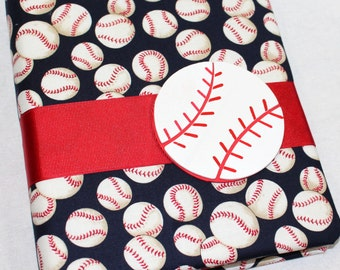 Baby Shower Guest Book / Baseball Baby Shower Guest Book / Baby Boy Shower / Advice Book for Baby Shower / Sports Theme Guest Book