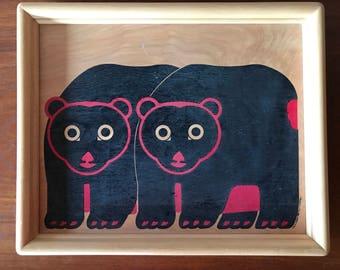 Fab Bear tray - Taylor and NG San Francisco 1983
