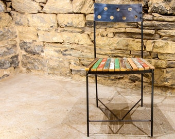 Free Shipping!  Café Fiesta - Urban Industrial Dining Chairs and Bar Stools