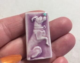 Mosaic Tile Ceramic Trick Dog orcelain
