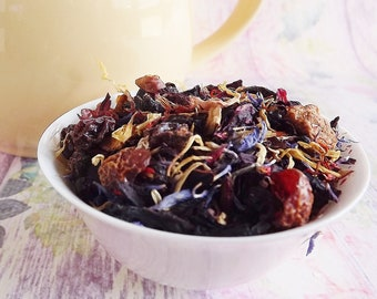 Tutti Fruitti Herbal Tea, Fruity Herbal Tea, Kids Herbal Tea, Herbal Tea, Tea Party Tea, Loose Leaf Tea