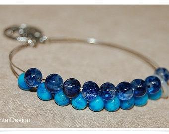 Row Counter Bracelet  Bangle Bracelet for Knitting or Crocheting