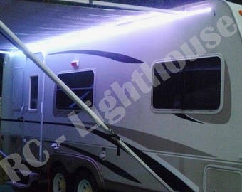 2 feet LED Light Strips for almost anywhere!  Bluetooth BLK Control box incuded.  Great for RV, boat, kitchen, decks or anywhere you need li