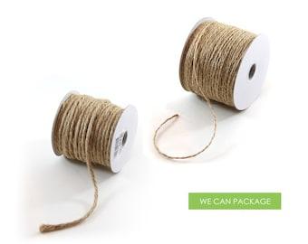 Burlap Jute Bakers Twine Cord String for Craft Gift Weddings and Scrapebooking