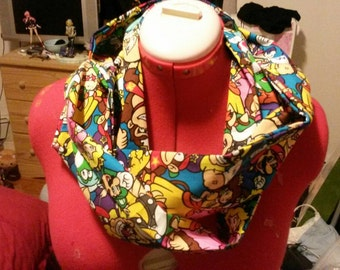 Super Mario Brothers Infinity Scarf