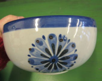 Mexican Hand Painted Bowl