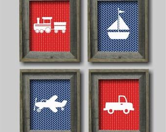 Transportation Nursery Wall Art