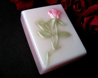 """Soap.  A Rose by any other name...smells just as sweet. Fragrance of """"Victorian Rose""""."""