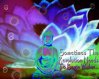 Revolution Within Buddha lavender mist