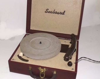 Cordovan Portable Suitcase Record Player