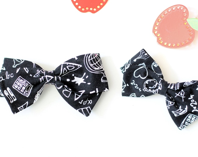 Back to school bow / girl's bows / bows / discounted bows
