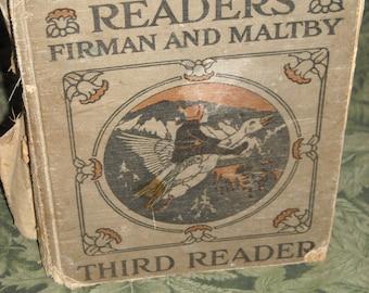 1926 hardcover: Winston Reader - Third Reader