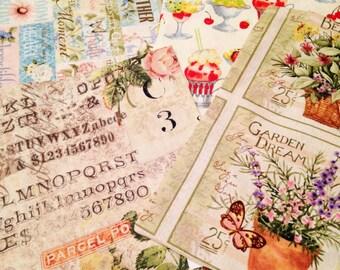 Drawstring Cotton Gift Bags - Variety 1 through 4