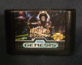 Arcus Odyssey - Sega Genesis - Reproduction Cartridge